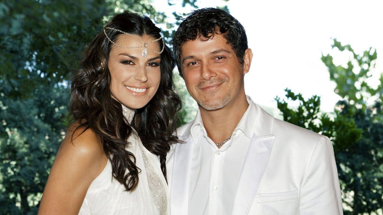 La pareja se casó en el año 2012