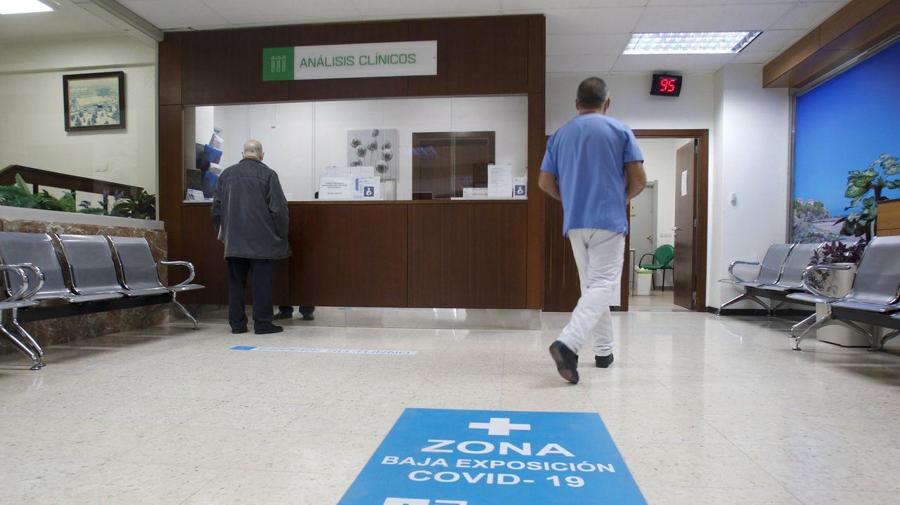 Instalaciones del hospital concertado Juan Cardona, ubicado en el barrio de Caranza