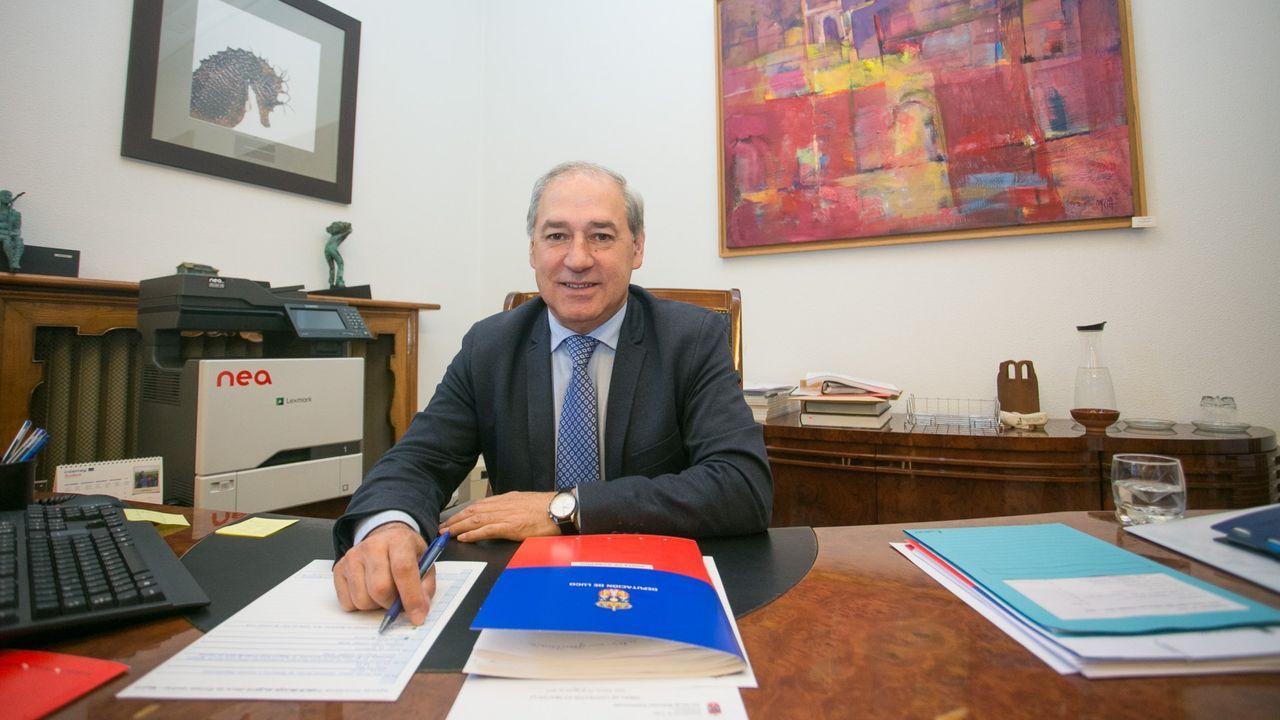 Foto de archivo del presidente de la Depoutación de Lugo, José Tomé