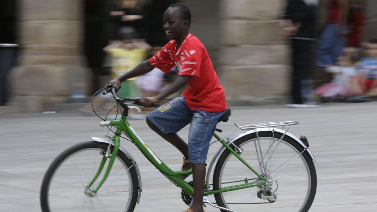 «Queridos Reyes Magos: Este año no os olvidéis de traerme una bicicleta»