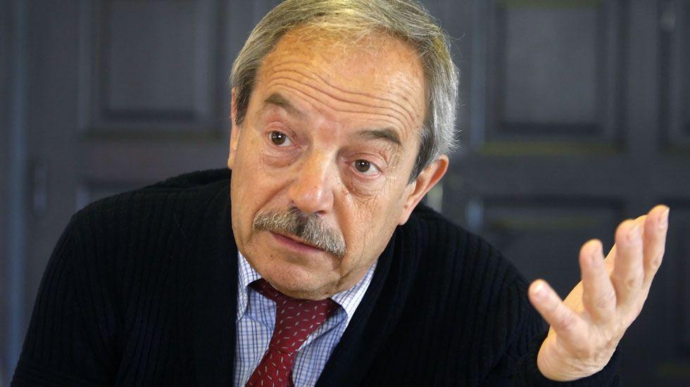 El alcalde de Oviedo Wenceslao López