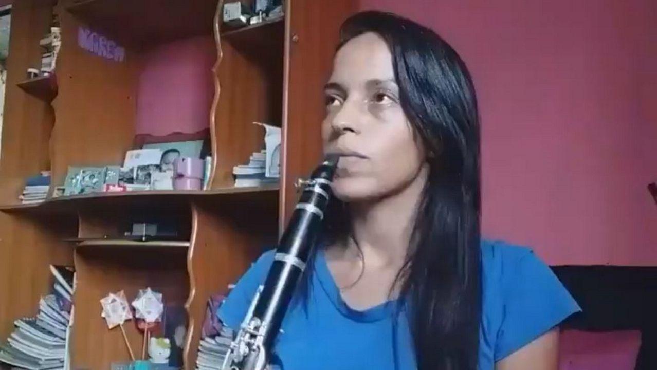 Karen Palacios, de 26 años, estuvo 45 días en prisión