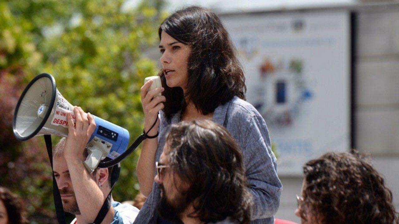 Isabel Serra, portavoz de Unidas Podemos en la Asamblea de Madrid
