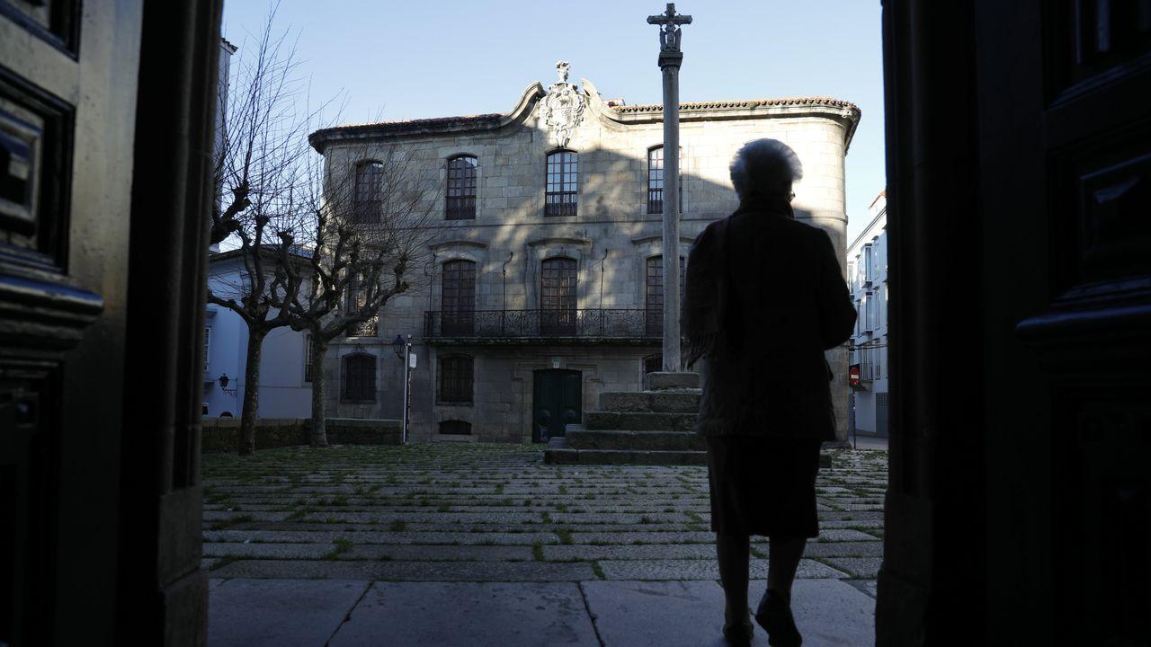 La Casa Cornide se encuentra en la Ciudad Vieja de A Coruña