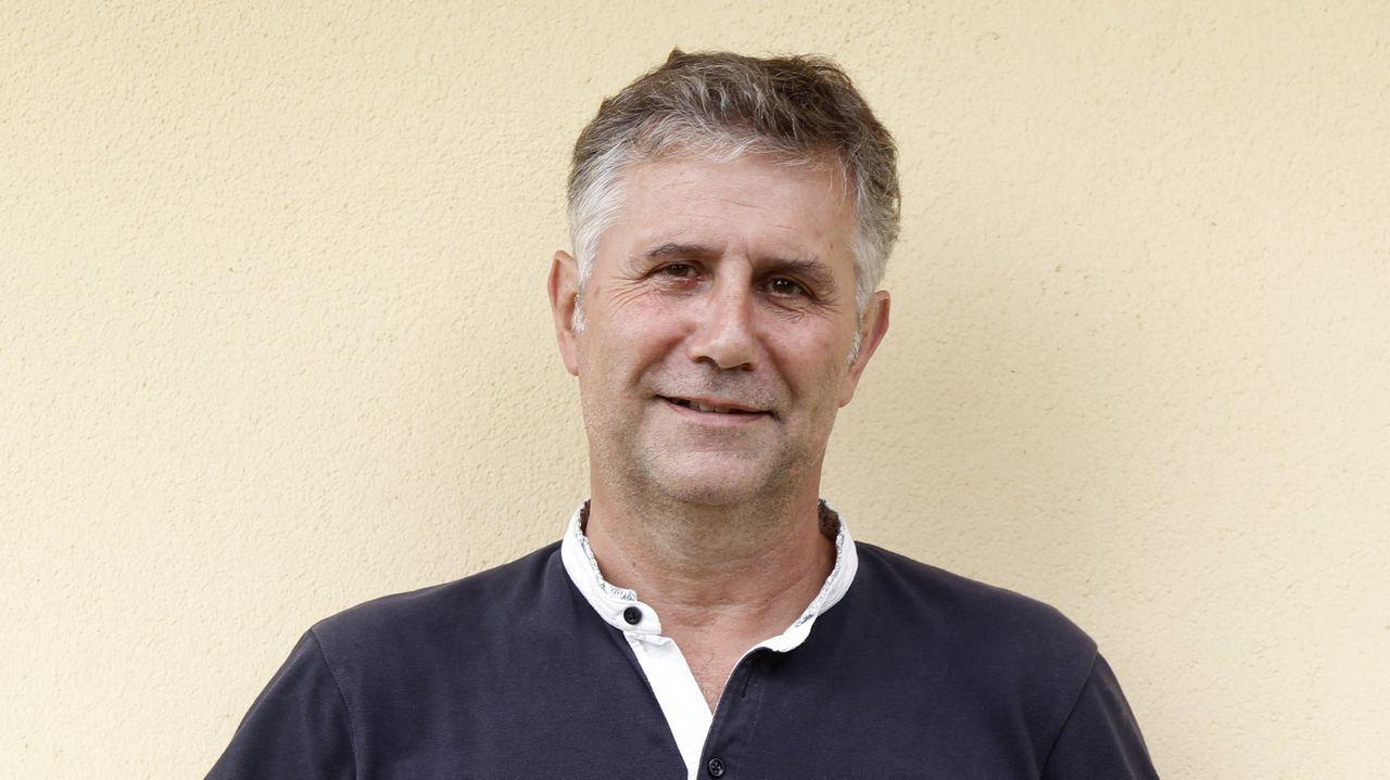 Javier Briones, médico gallego en el Hospital San Pau
