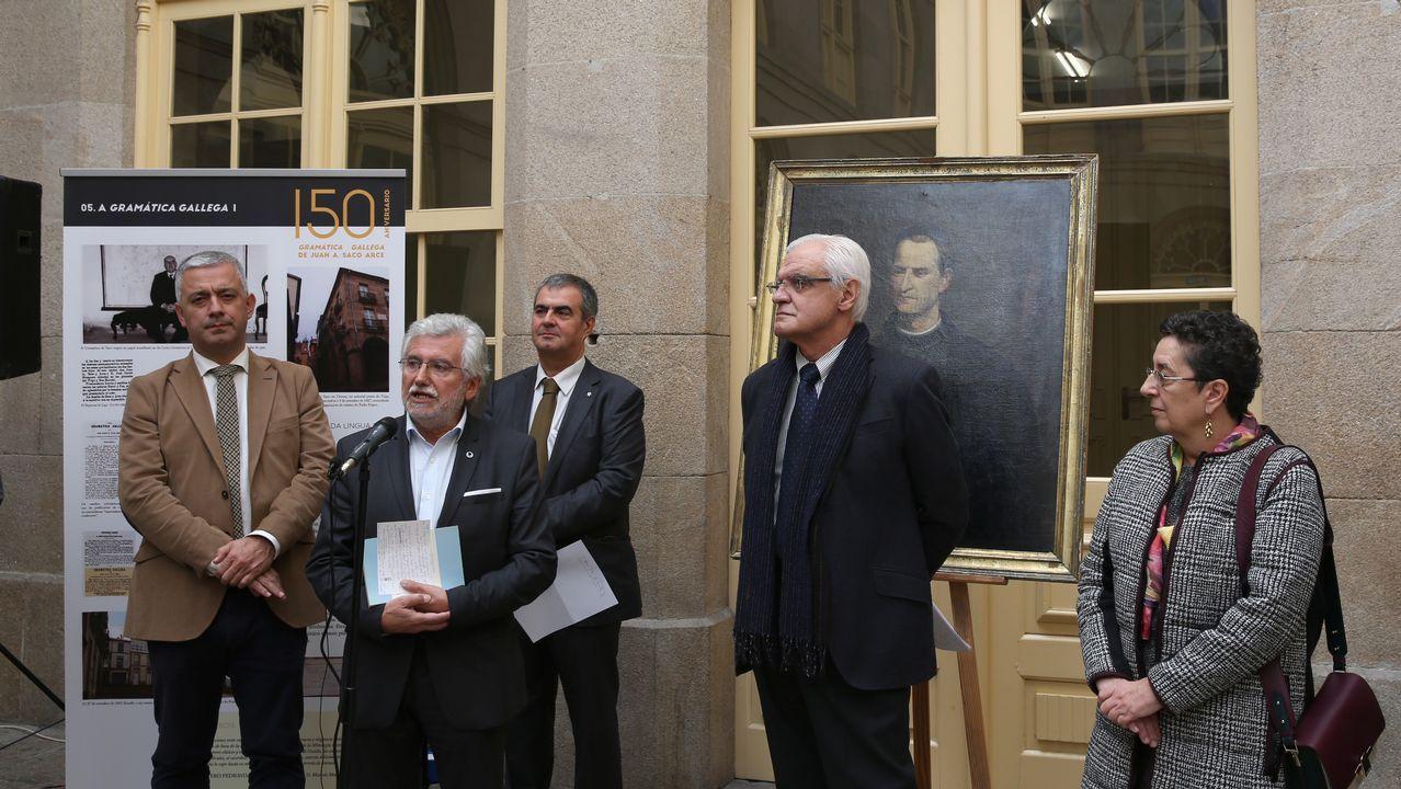 A homenaxe celebrouse no IES Otero Pedrayo, onde tamén se pode visitar a exposición