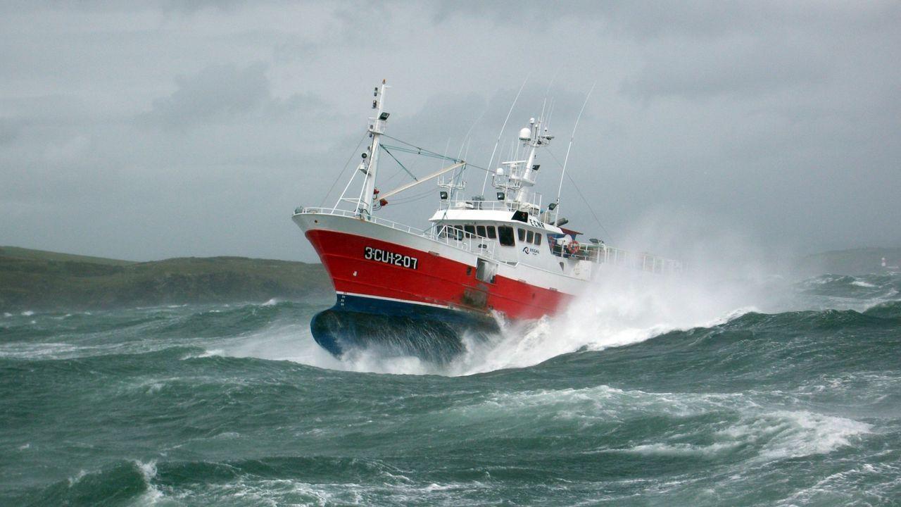 Un pincheiro de Gran Sol que, como el resto de la flota pesquera, vería limitada su actividad con la propuesta de la Comisión Europea, según Europeche
