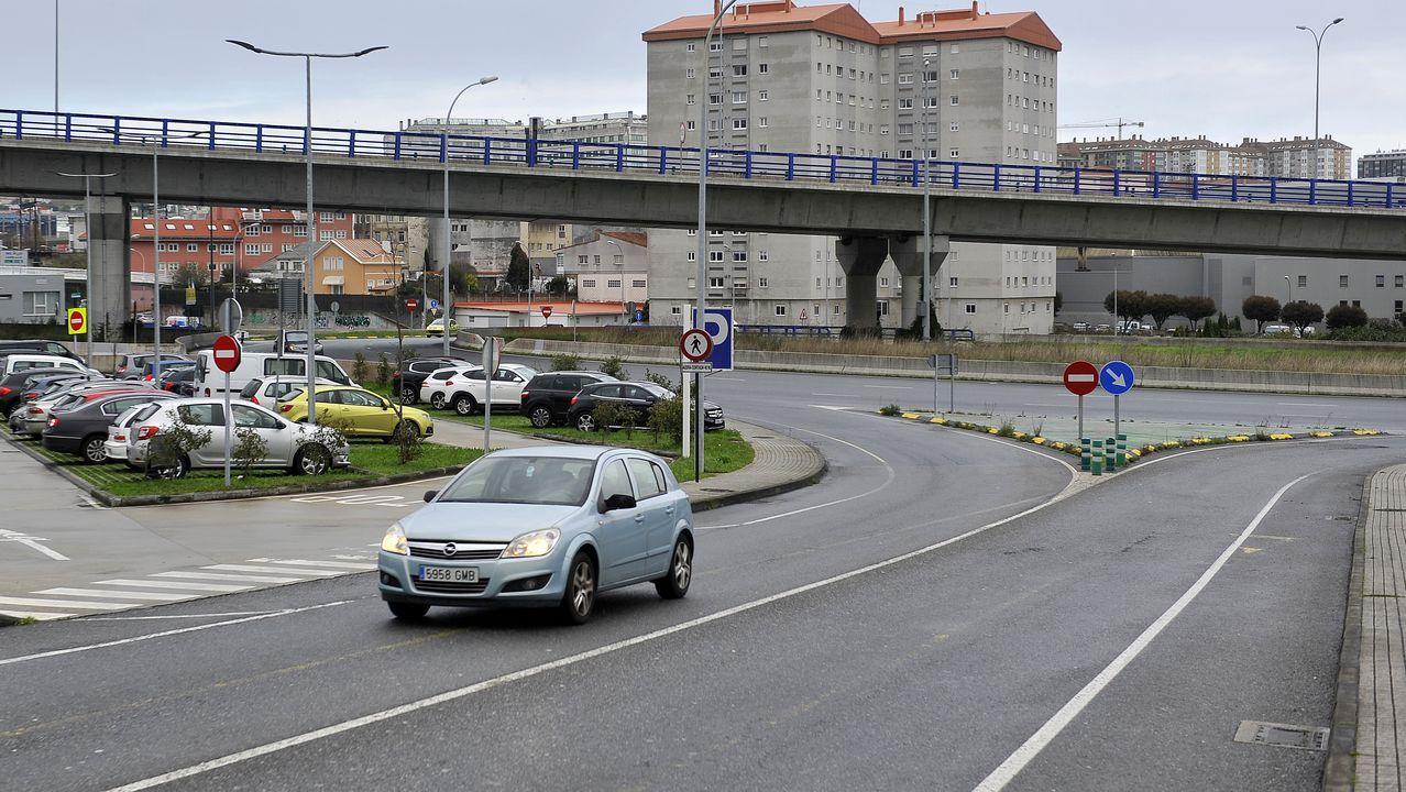 Los alrededores de Lonzas no facilitan la permeabilidad peatonal