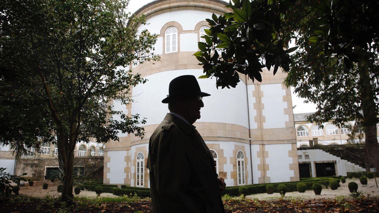 Una invasión de ratas amenaza las ayudas de la PAC en la provincia de Lugo.Los jardines de la Diputacion, que diseño su abuelo materno