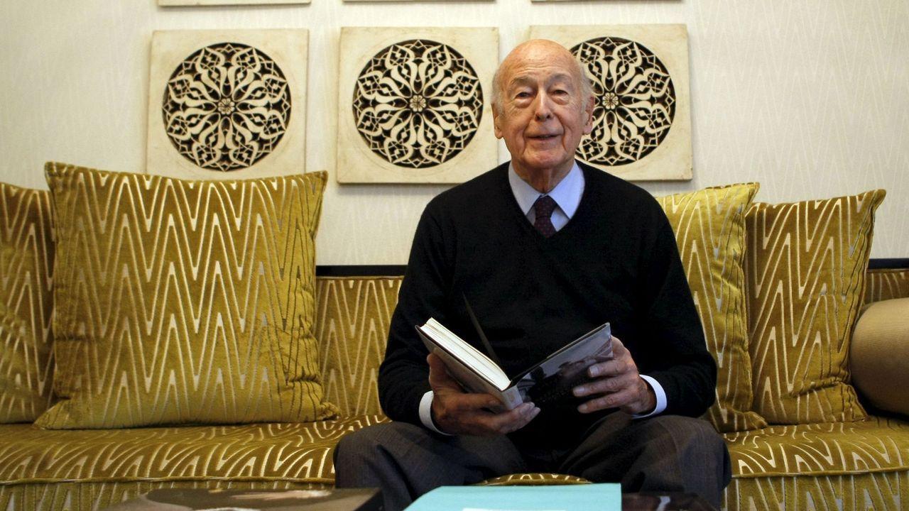 El expresidente francés Valery Giscard d'Estaing