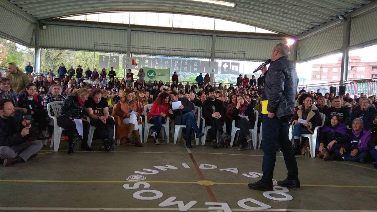 Pablo Iglesias en Gijón