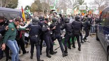 Batalla campal en Agroexpo, Extremadura