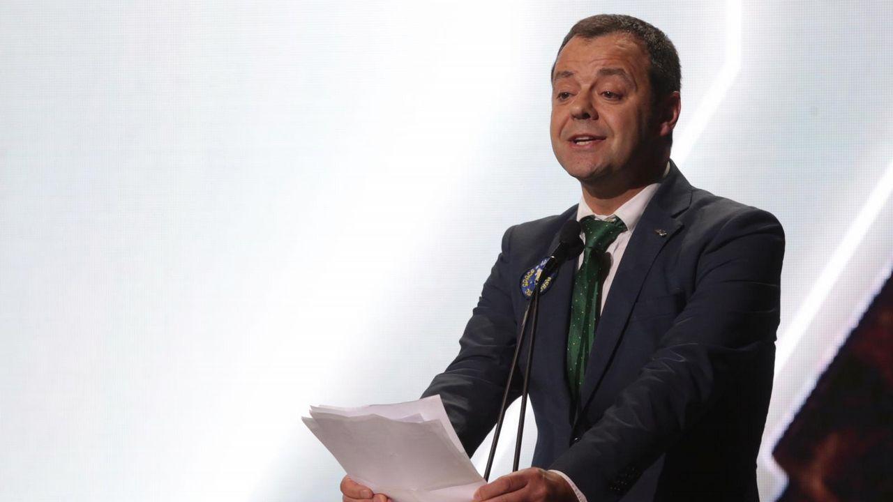 O presidente de la Academia Galega do Audiovisual, Carlos Ares.
