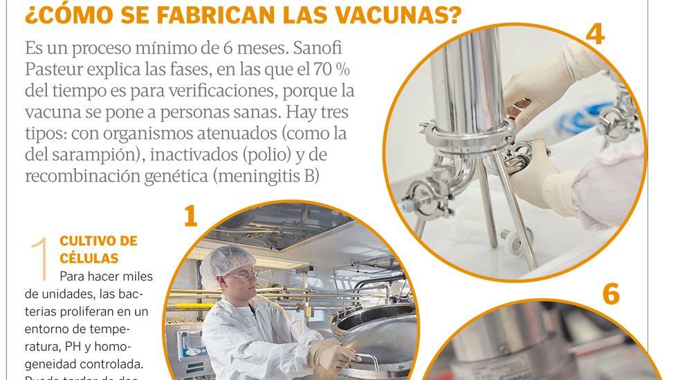¿Cómo se fabrican las vacunas?