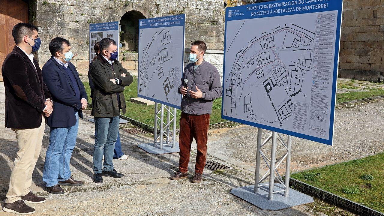 El proyecto fue presentado en el castillo de Monterrei