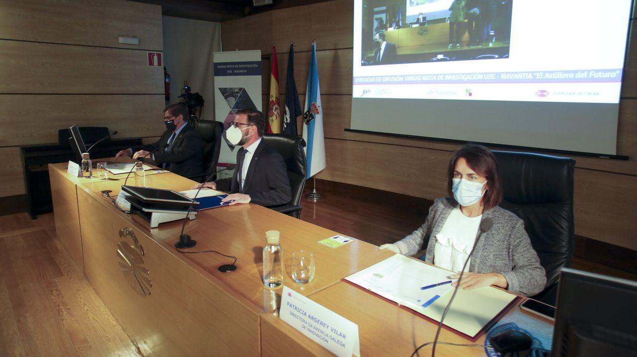 La jornada de difusión de los proyectos de la UMI UDC-Navantia se desarrolló en el campus de Ferrol