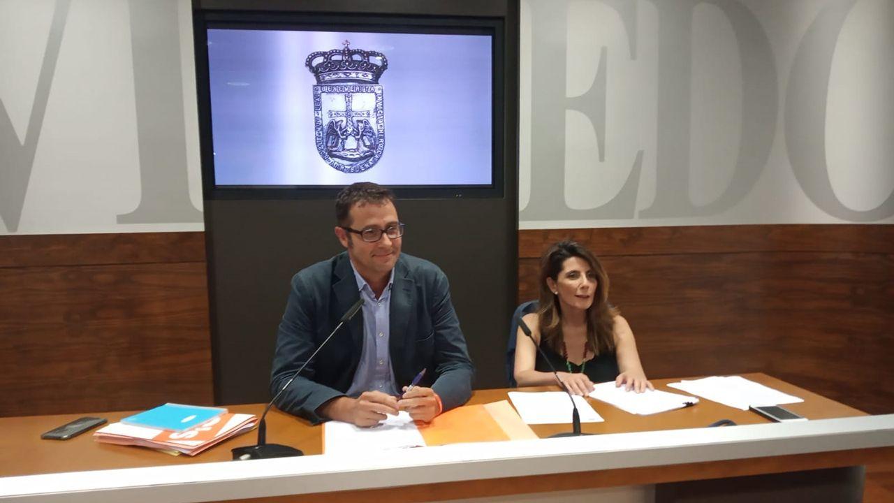 José Luis Costillas y Yolanda Vigil