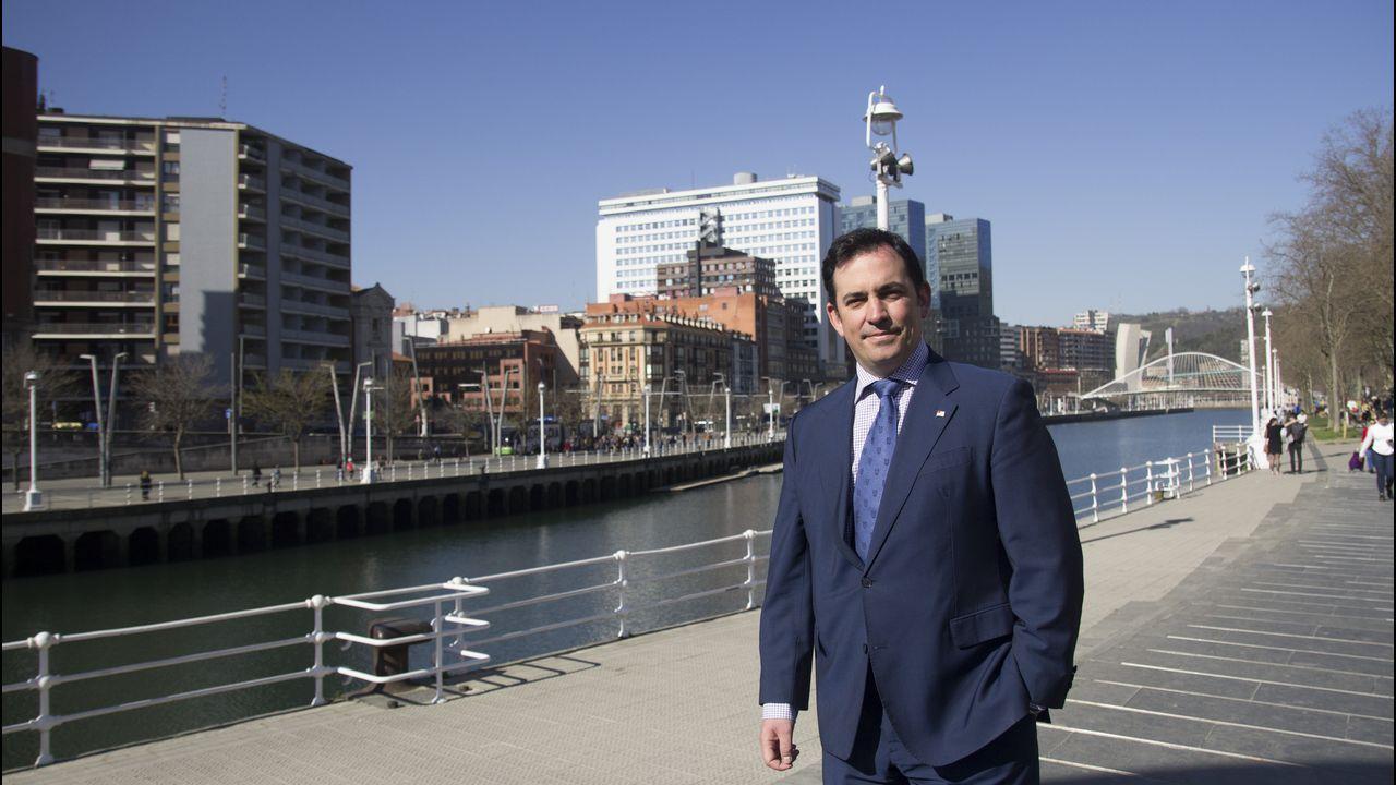 Bilbao.Asier Abaunza es el teniente de alcalde y responsable de Urbanismo del Ayuntamiento de Bilbao, donde gobierna, desde 1979, el PNV