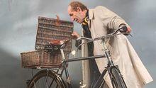 Manuel Pita, en la imagen que hizo para un calendario