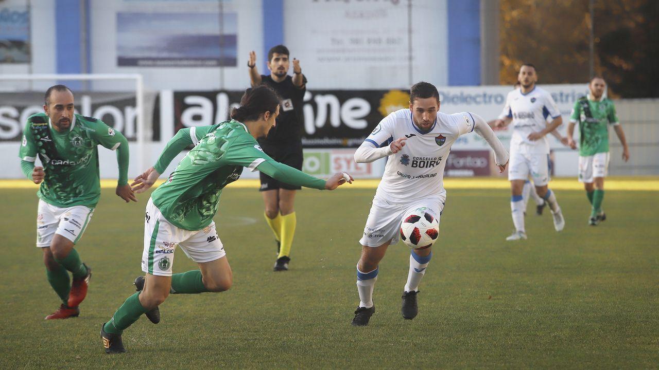 ¡Búscate en el partido de tercera división entre el Boiro y el Arenteiro!