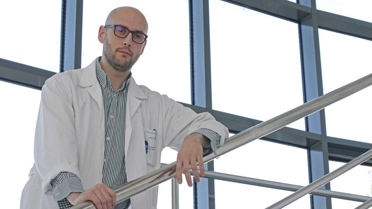 Daniel Pérez Fentes desarrolló la técnica con sus colegas Carlos Fernández Baltar, Juan Núñez Otero y Rita Diz Gil; y el epidemiólogo Francisco Gude Sampedro