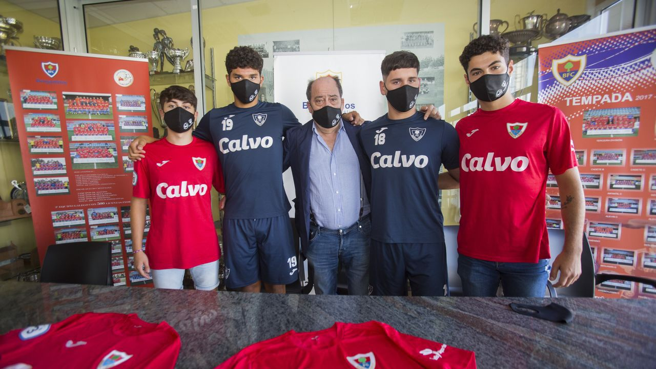 Pablo Carro, William, Chano Calvo, Carlos y Martín García