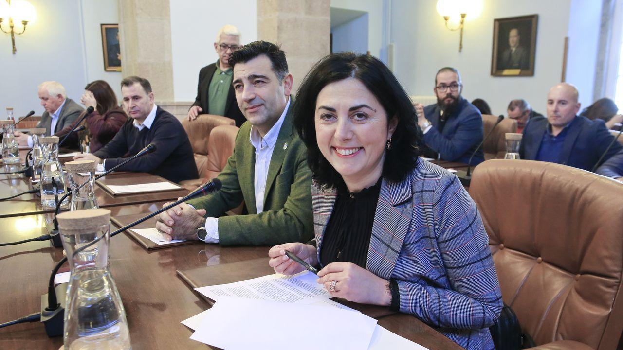 Elena Candia ya es exalcaldesa y exportavoz del PP en la Diputación