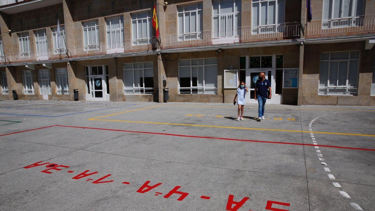 En el CEIP Álvarez Limeses de Pontevedra estudian más de 400 alumnos de infantil y primaria este curso