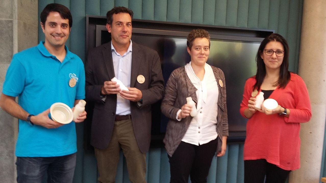 Los envases plásticos biodegradables a partir de residuos vegetales se presentaron este jueves en Logroño