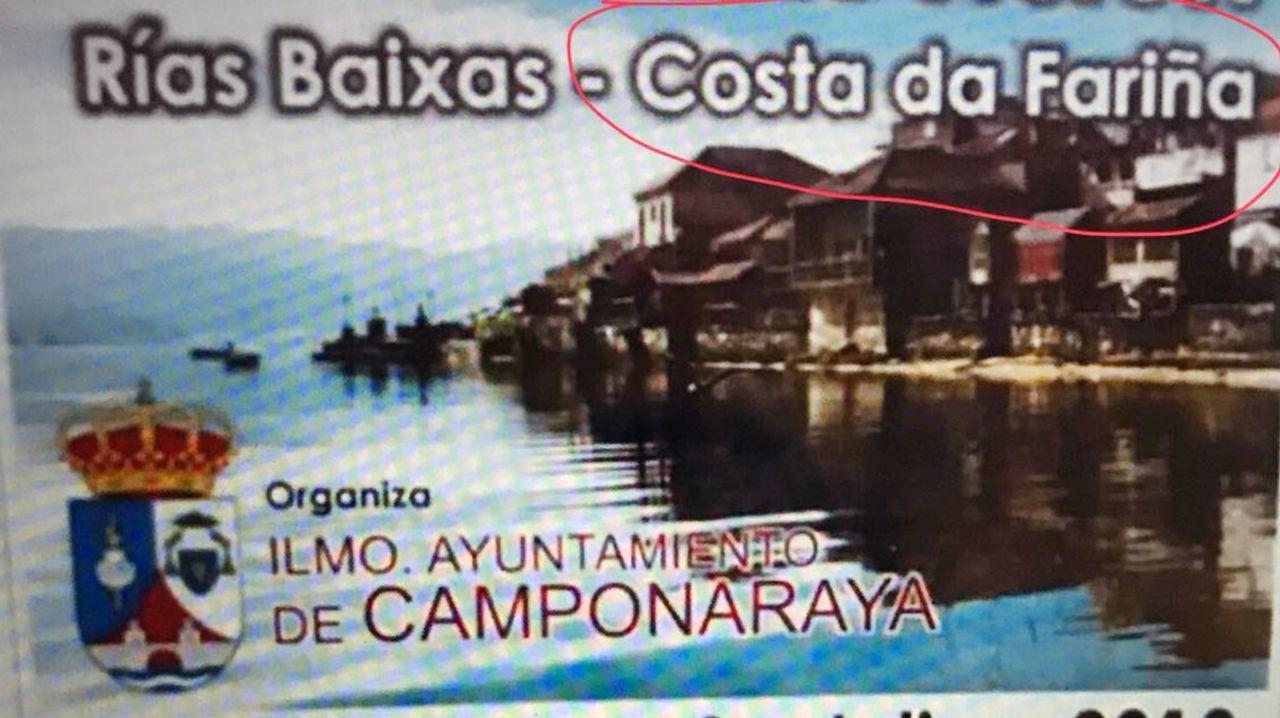 El reclamo de Camponaraya era una excursión a las Rías Baixas con el reclamo de ser la Costa da Fariña