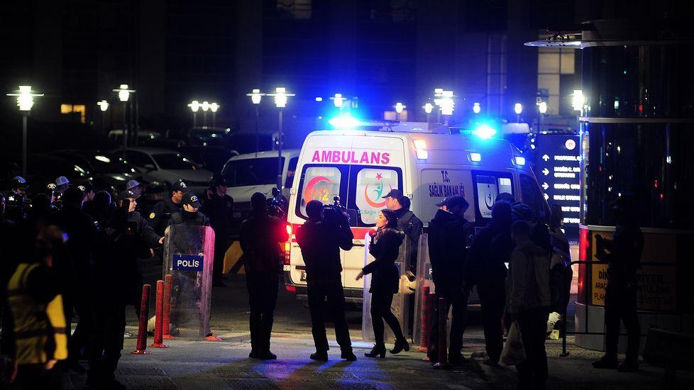 Secuestro en el Palacio de Justicia de Estambul
