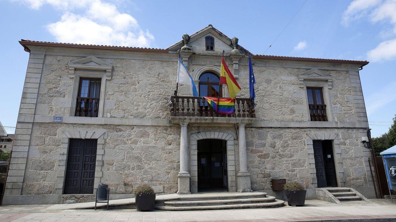 Manifestación en Vilalba contra el cierre de la hostelería