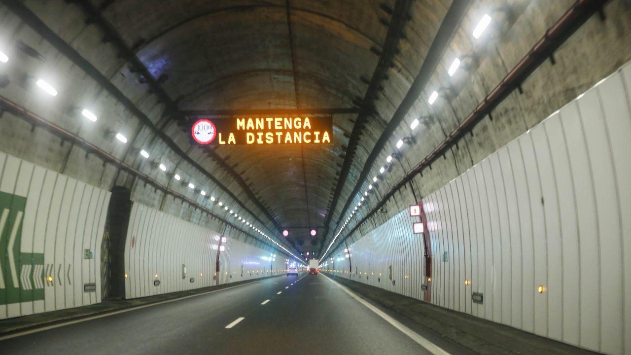 Túnel de O Folgoso en la A-52
