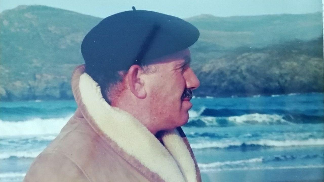 En la imagen, Jesús Bescos Couceiro, antiguo jefe de Correos de Ferrol y activista de la lucha antifranquista