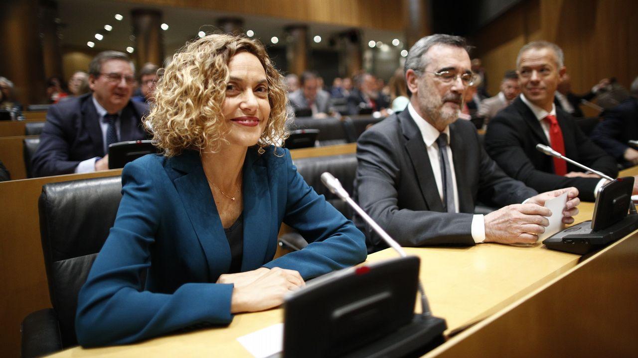 La exministra de Política Territorial y presidenta del Congreso, Meritxell Batet