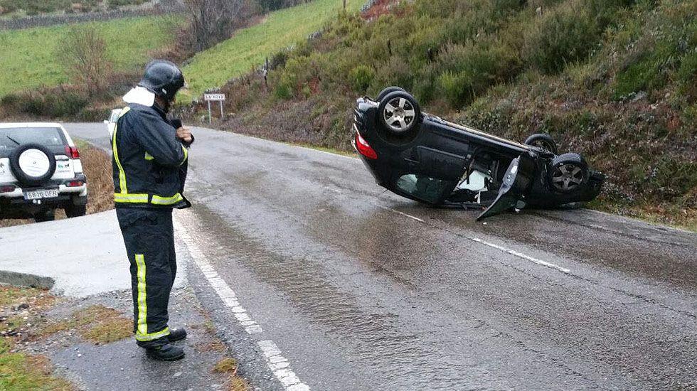 Accidente en Allande