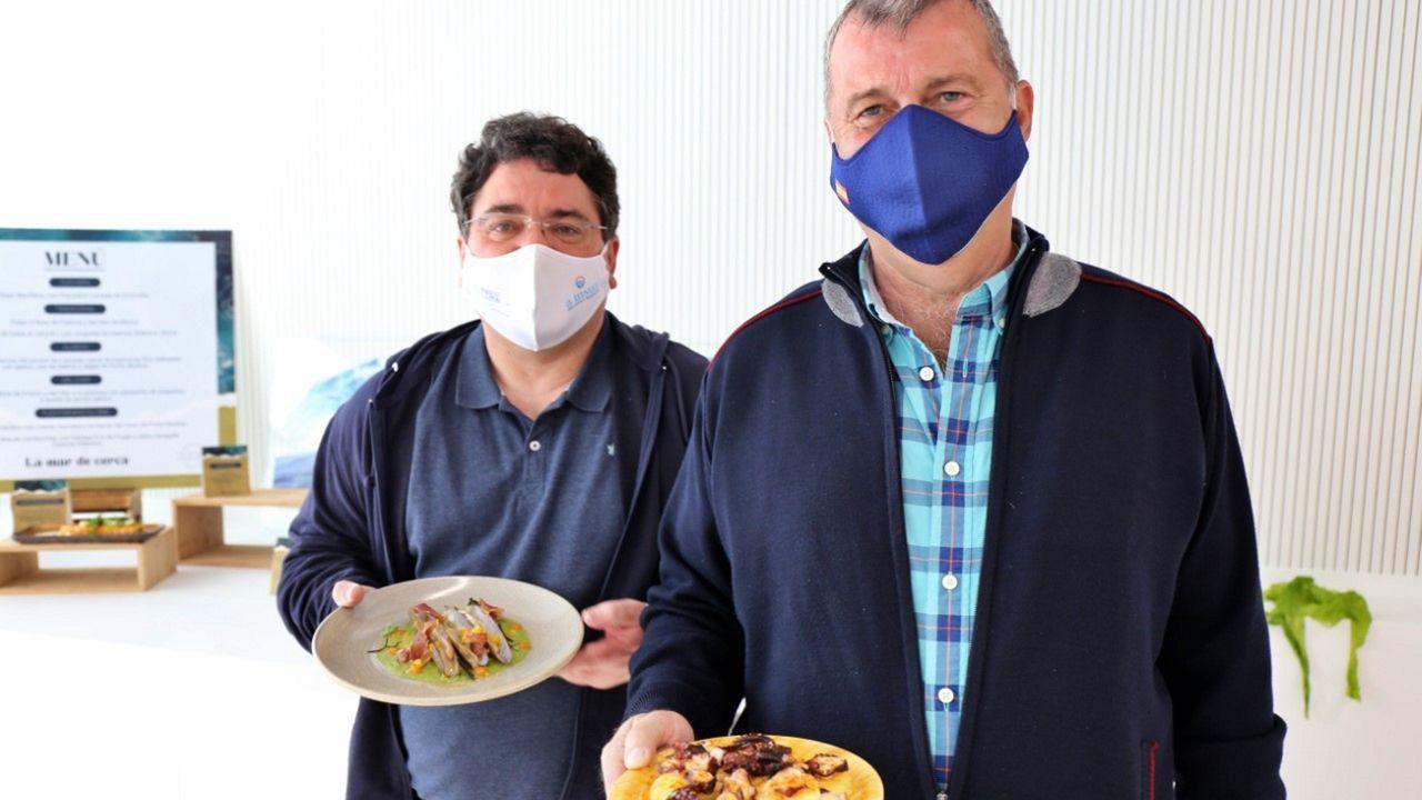 Milucho Louro y Daniel Formoso