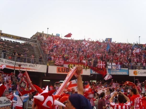 Afición Sporting en Castalia