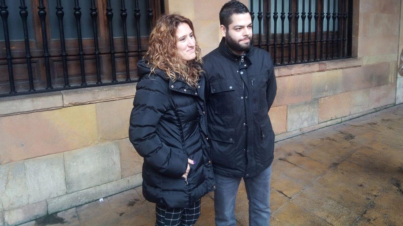 Anabel Santiago y Rubén Rosón