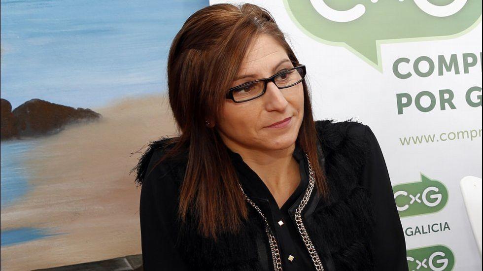 Ethel Vázquez afirma que a AG-55 é unha das autopistas máis baratas de España.