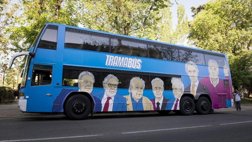 Cifuentes: «El tiempo de los corruptos ha llegado a su fin en la Comunidad de Madrid».Daniel Ripa