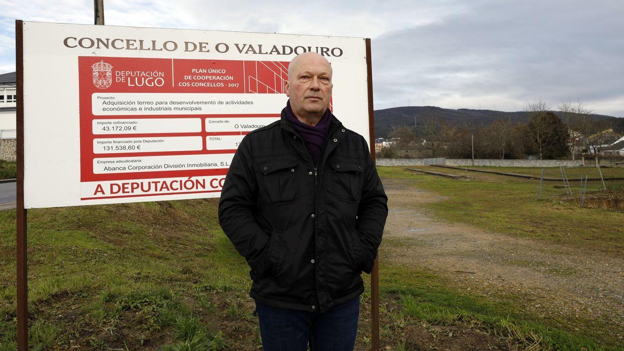 Así es la casa que Marcial Dorado poseía en Vilagarcía.Instalaciones de Ferroatlántica en Cee