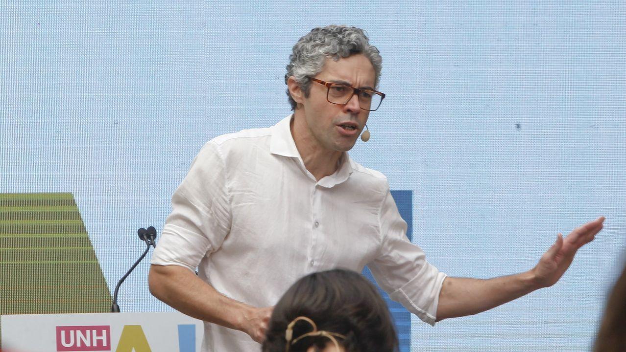 Iván Rivas, portavoz del BNG en el Concello de Ferrol