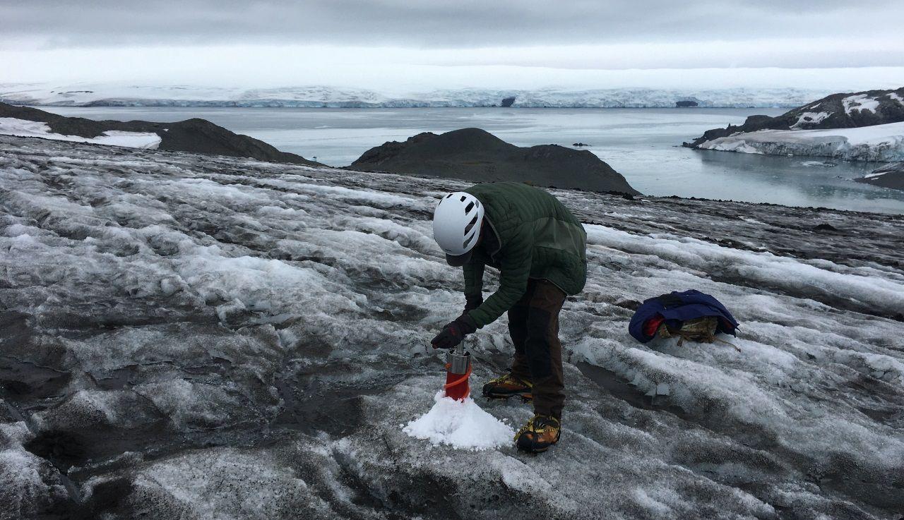 Así es la logística más compleja del planeta.Perforando el hielo de la Antártida, la ciencia puede reconstruir la historia del clima de la Tierra