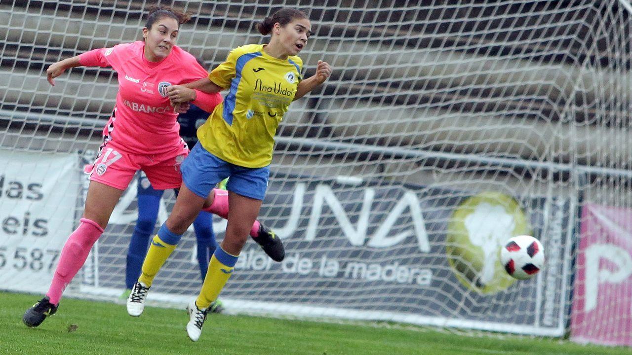Las imágenes del partido Atlético Arousana contra Oceja