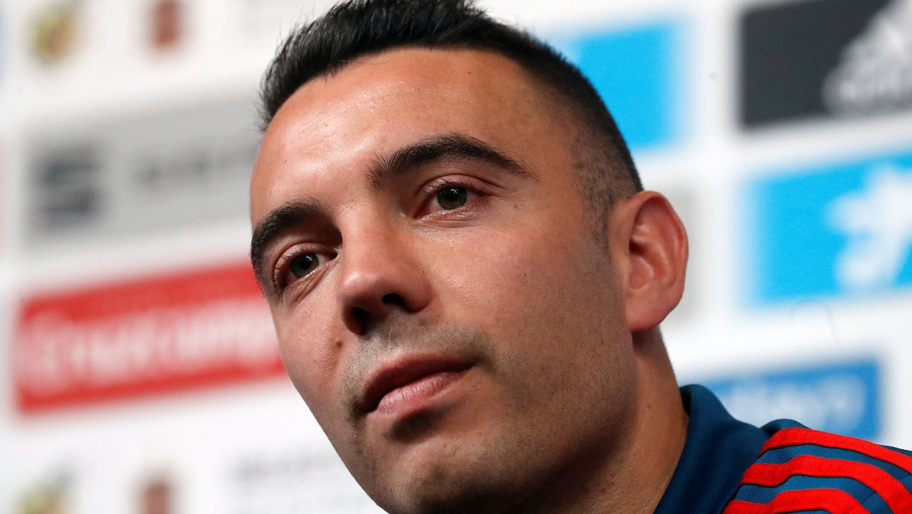 Aspas habla claro en Krasnodar: «Quiero ser titular».Antonio Mediavilla, director comercial del grupo Oca Hotels