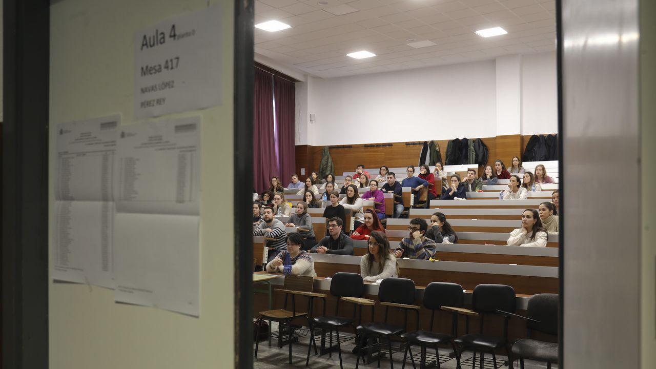 Pruebas para el acceso a las 1.932 plazas de formación sanitaria especializada en Galicia