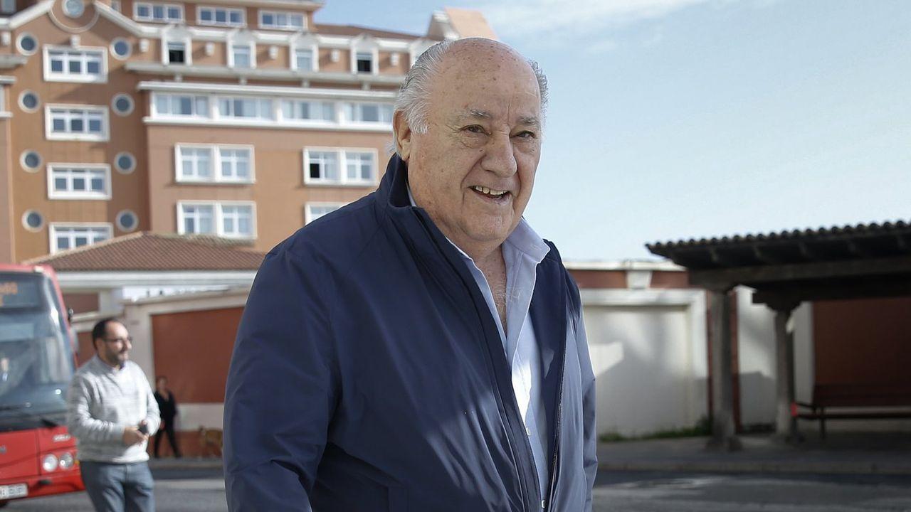 Rafael del Pino, presidente de Ferrovial y muy vinculado a Ribadeo