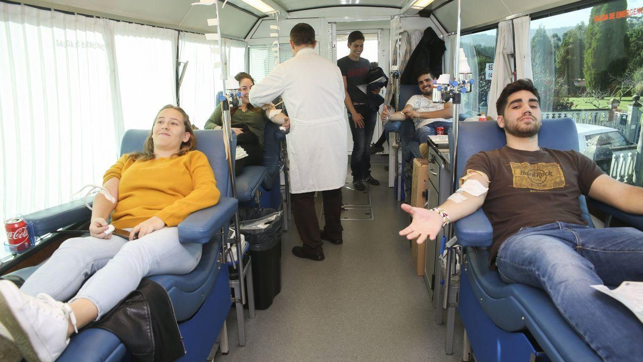 Donación de sangre en Lalín