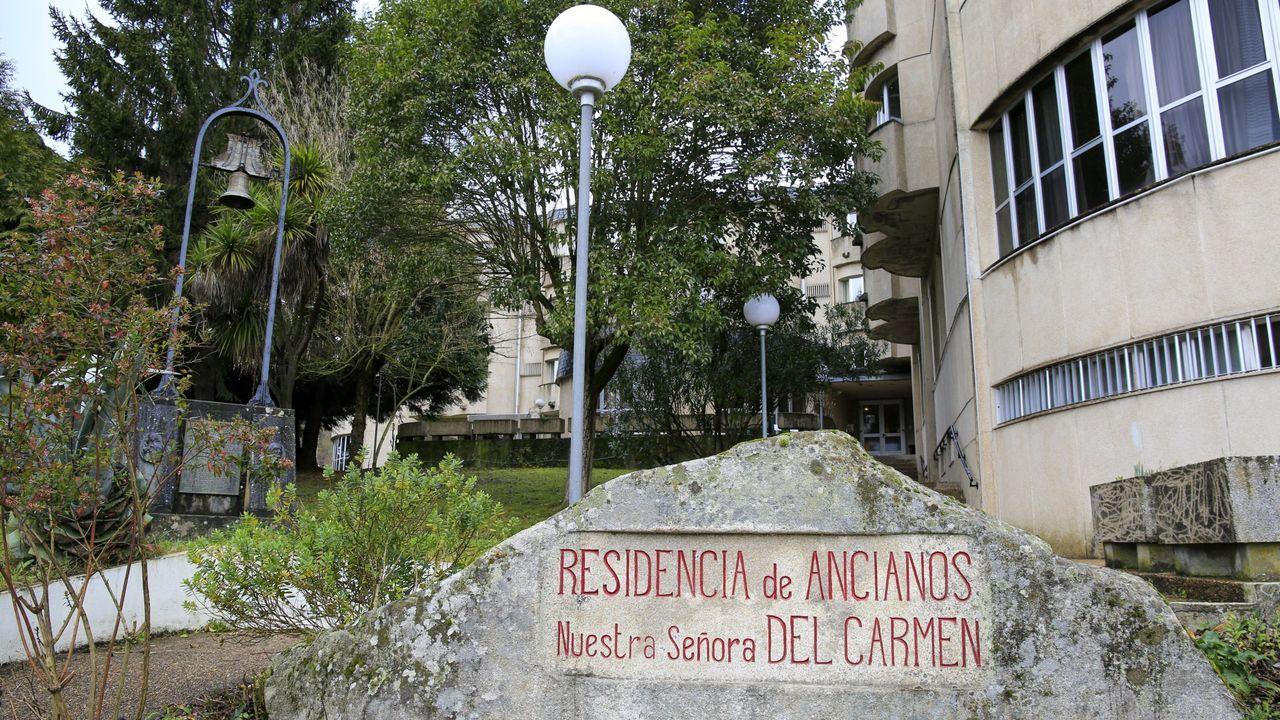 La residencia de Sarria cuenta con 91 plazas, 83 de ellas para dependientes